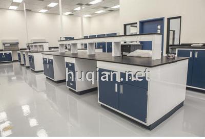 医院化验室实验台可以带试剂架