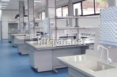 食品厂化验室实验台图