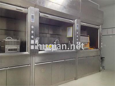 沪前公司为乐东黎族自治县生产的不锈钢通风柜