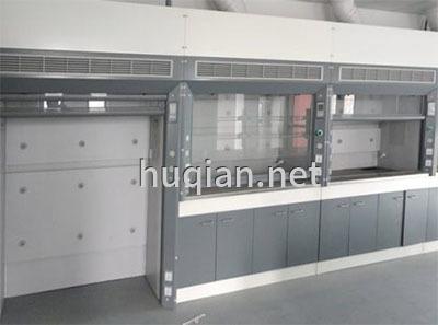 上海沪前厂家订制的钢制防火高密度通风柜