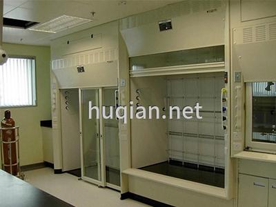 沪前公司为某化工厂定做的防火高密度通风柜