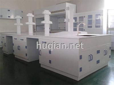 huqian公司不仅生产pp防腐通风柜还生产PP实验台