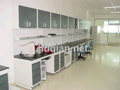 huqian为化验室定做的全钢内凹实验台