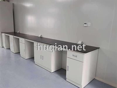 huqian为医疗行业定做的铁质实验台