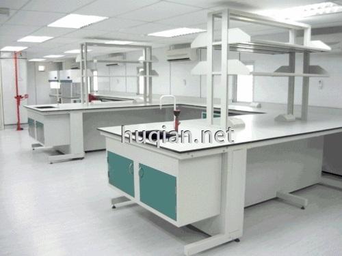 实验室钢架结构边台