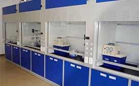 上海沪前实验室通风柜生产厂家定制的钢式通风柜