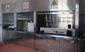 上海沪前不锈钢通风柜生产商定制的环保不锈钢通风橱