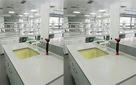 上海沪前实验室操作台厂家生产的试验台陶瓷板