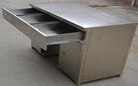 上海沪前实验台厂家生产的全不锈钢实验台