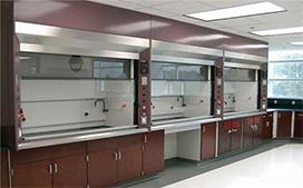 上海沪前玻璃钢通风柜供应商生产的强酸型实验室通风橱