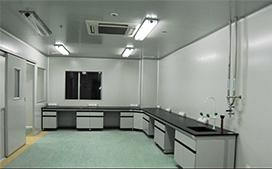 中央试验台带活动柜