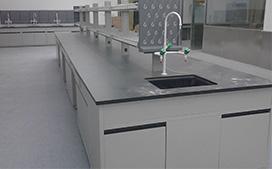 上海沪前实验室操作台厂家生产的医院用中央实验台
