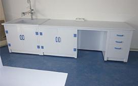 上海沪前实验室操作台厂家生产的优质实验室边台专业订做