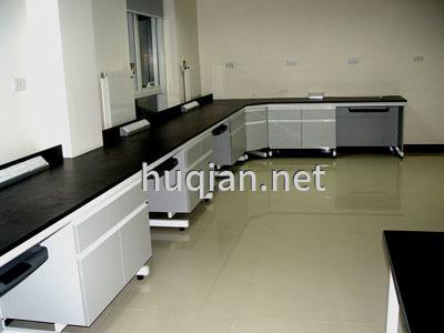 上海沪前实验室操作台厂家生产的优质边柜实验桌