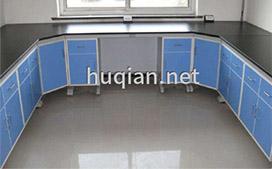 上海沪前实验室操作台厂家生产的优质转角实验边台
