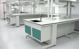 上海沪前实验室操作台厂家生产的优质实验室钢架结构边台