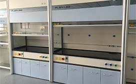 上海沪前不锈钢通风柜生产商定制的优质理化实验室通风柜