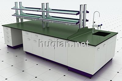 上海沪前实验室操作台厂家生产的优质实验室中央试验台