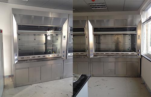 上海沪前不锈钢通风柜生产商定制的优质不锈钢优质通风柜