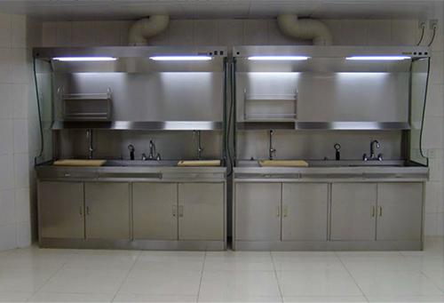 上海沪前不锈钢通风柜生产商定制的优质不锈钢化验室通风橱
