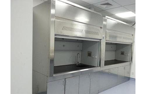 上海沪前不锈钢通风柜生产商定制的优质不锈钢台式通风柜
