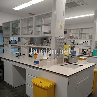 优质带试剂架中央实验台