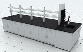 优质全钢化学中央操作台