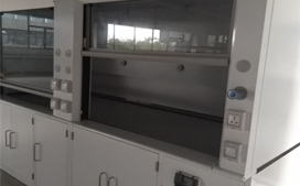 上海沪前实验室通风柜生产厂家定制的双人通风柜