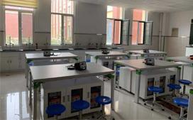上海沪前实验室操作台厂家生产的小学生科学实验桌