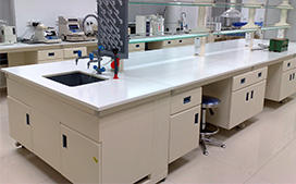 上海沪前实验室操作台厂家生产的济阳全钢实验台