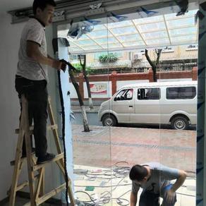 龙泉酒店自动感应门服务电话 办公室门禁自动门安装公司