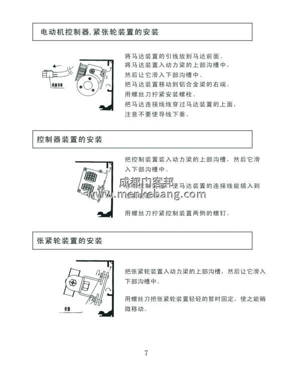 LTC自動門控制器說明書