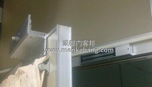 玻璃移门门禁安装方法