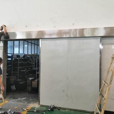 厂房不锈钢自动门案例