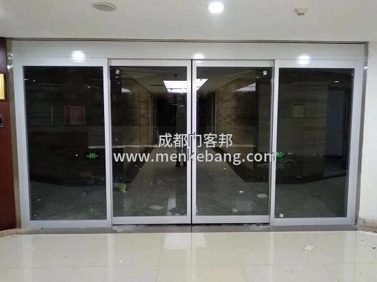 高新区玻璃自动门案例