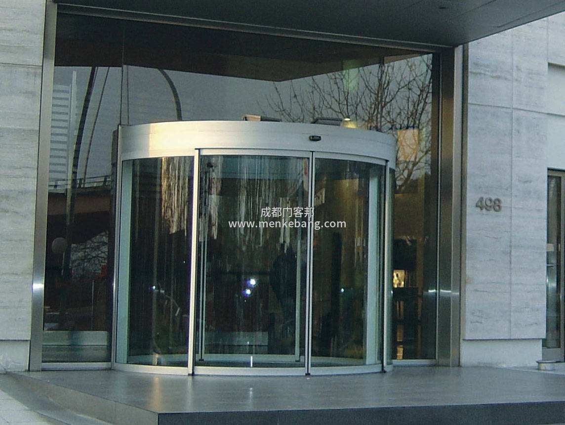 弧形玻璃门,圆弧形玻璃门,弧形感应玻璃门