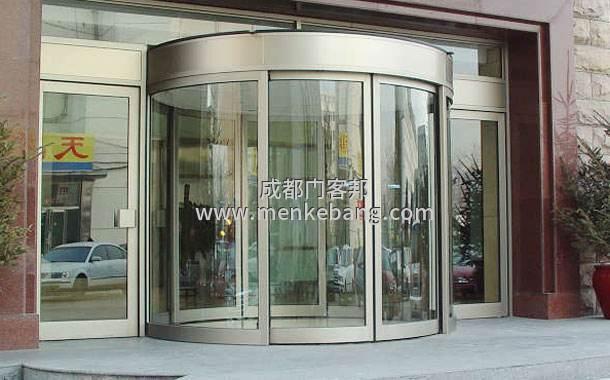 弧形玻璃门,圆弧形玻璃门,弧形感应玻璃门价格安装
