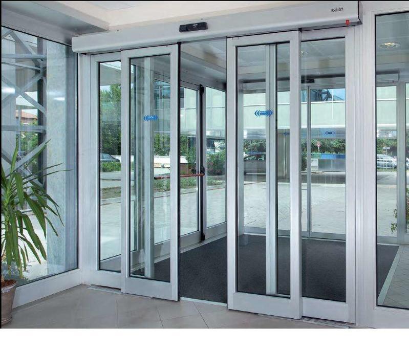 自动玻璃门的工作原理及安装方法介绍