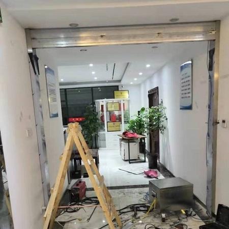 办公室门禁自动门安装案例