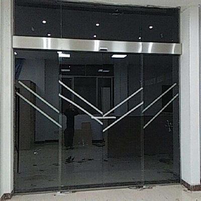 电动玻璃门