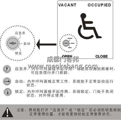 殘疾人衛生間自動門