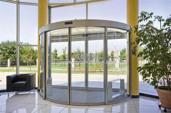 玻璃感应弧形门,玻璃弧形感应门