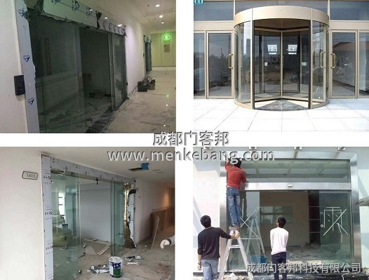 玻璃電動移門,玻璃自動移門,自動感應玻璃移門,玻璃自動感應移門案例