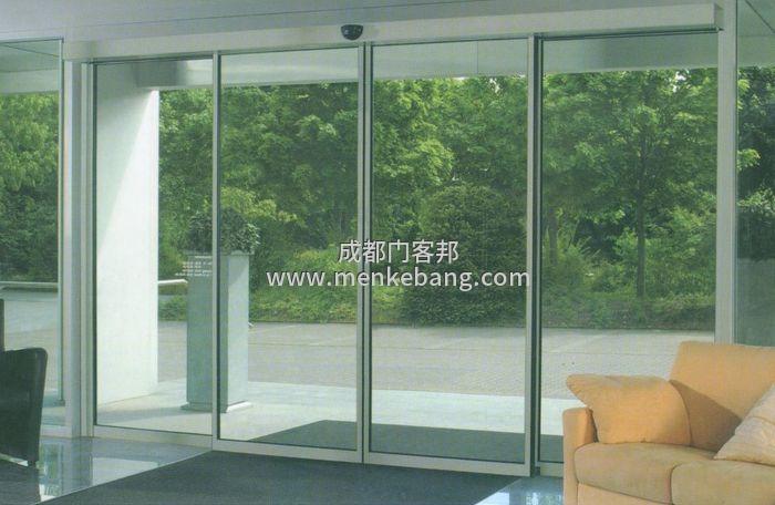 玻璃自动移门,自动感应玻璃移门,玻璃自动感应移门