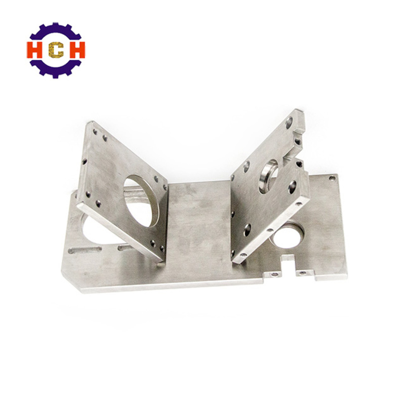 High precision cnc router stainless steel parts milling machining