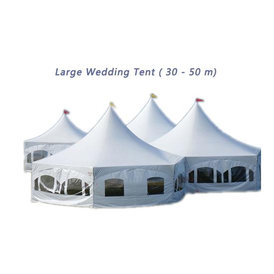 Large Wedding Tent (30 - 50 m)