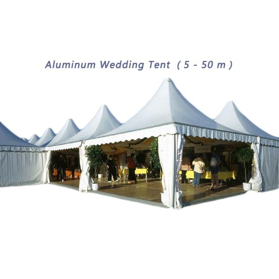 Aluminum Wedding Tent (5 - 50 m)