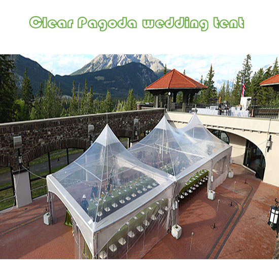 Clear Pagoda wedding tents