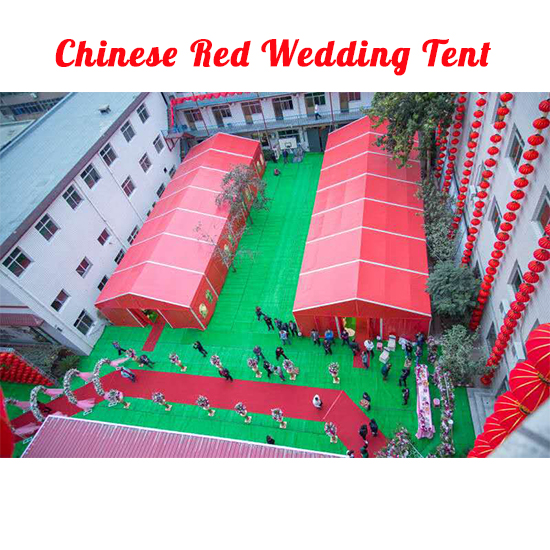 Chinese Red Wedding Tent