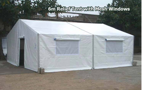 Military office tent